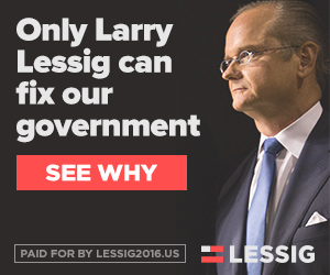 Lessig 2016 - Only Larry